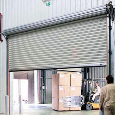 porte rapide avvolgibili per capannoni