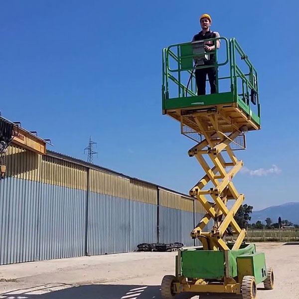piattaforme aeree verticali